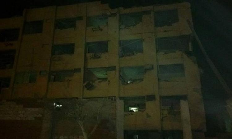 """الإسعاف : ارتفاع الإصابات فى تفجير """"الأمن الوطنى"""" إلى 29 حالة"""