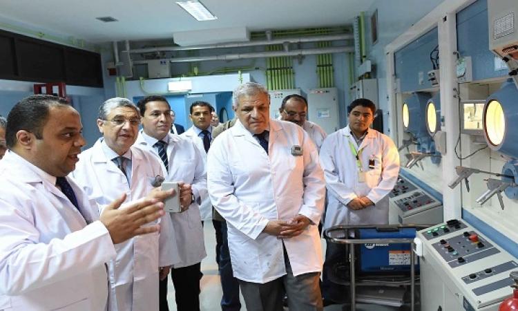 ابراهيم محلب يفتتح مشروع إنتاج النظائر المشعة بأنشاص