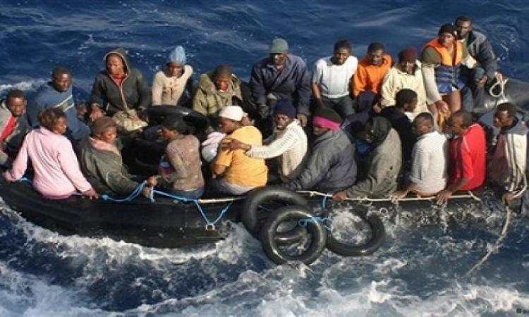 البحرية الإيطالية : وفاة 40 مهاجرا غرقا فى البحر