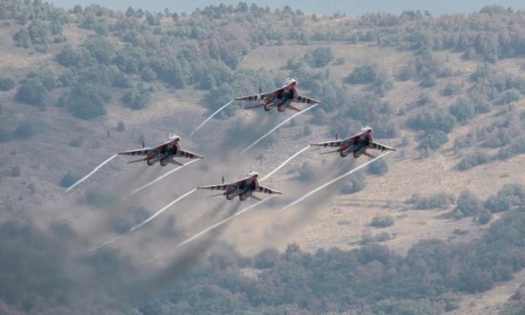 طائرات حربية إسرائيلية وأردنية تشارك فى تمرين جوى غدا فى الولايات المتحدة الامريكية