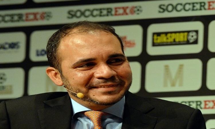الاتحاد المصرى يعلن التصويت للأمير على بن الحسين بانتخابات الفيفا