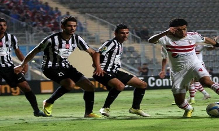 الزمالك حقق الفوز على الصفاقسى التونسى بثلاثة أهداف مقابل هدف