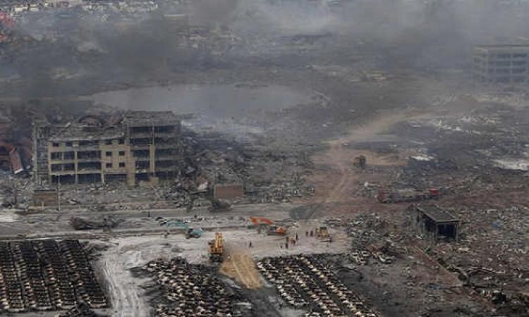 اعتقال 12 صينيًَا للاشتباه فى تورطهم فى انفجارات تيانجين