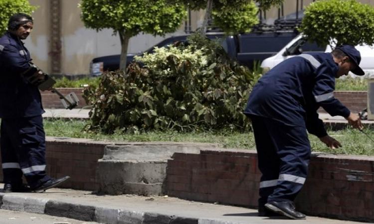 إبطال مفعول عبوتين ناسفتين أمام سفارة غانا بميدان لبنان