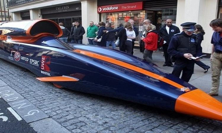 بالفيديو .. تصميم سيارة مذهلة سرعتها 1600 كيلو / ساعة
