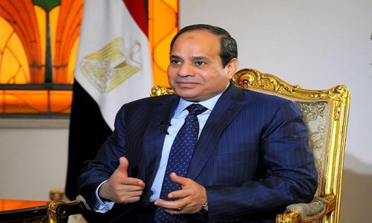السيسى لأسوشيتد برس : مصر تخوض حرباً شرسة مع الارهاب .. ولا ينبغى تقسيم سوريا
