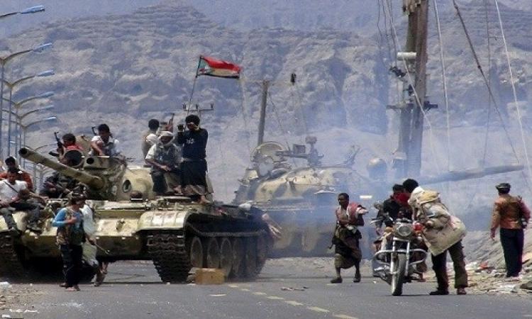 تجدد المواجهات فى تعز والتحالف يقصف مواقع الحوثيين