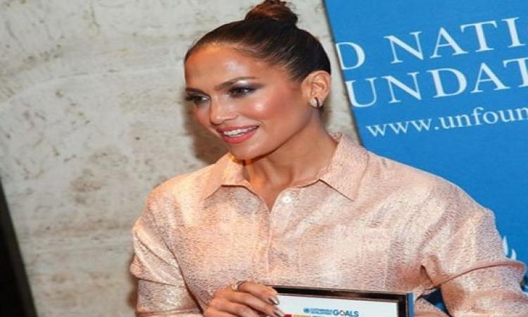 بالصور .. جينفر لوبيز تنضم للأمم المتحدة للدفاع عن حقوق المرأة