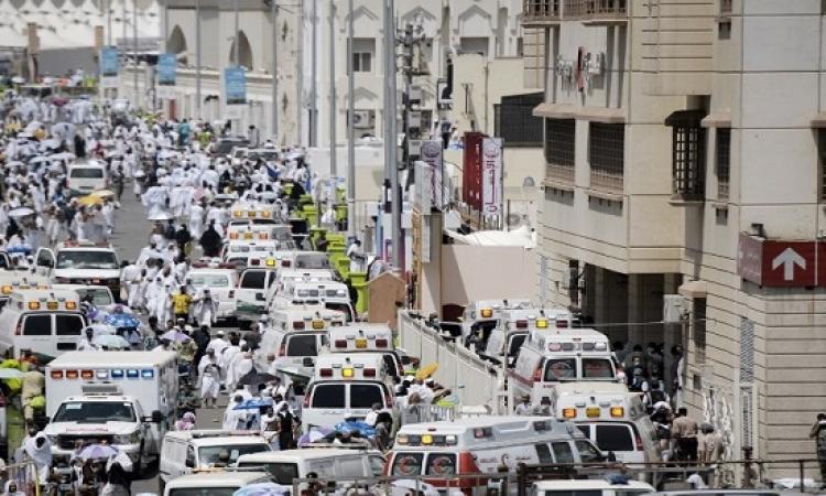 ارتفاع ضحايا حادث التدافع فى منى إلى 717 قتيلا و 805 مصاب