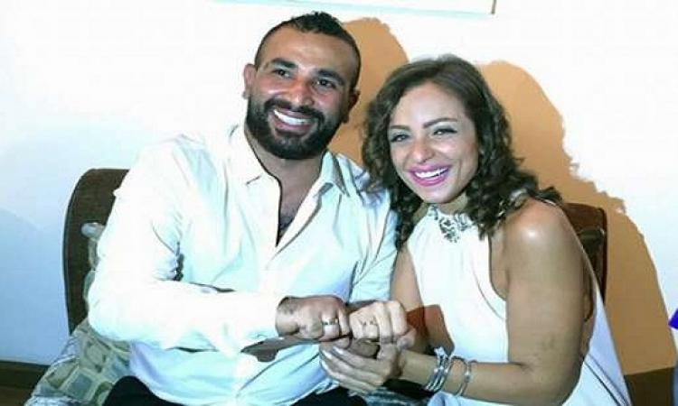 بالصور .. سعد فركش مع ريم للمرة المليون: عيالى محتاجينى!!