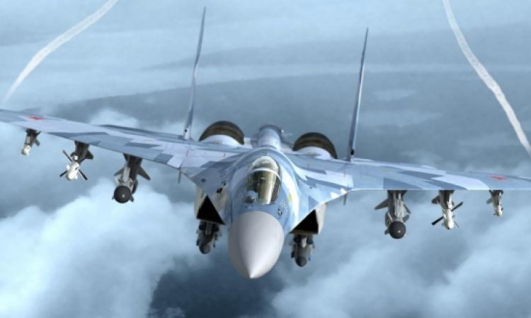 بالفيديو .. لحظة قتل أحد قائدى الطائرة الروسية فى ريف اللاذقية