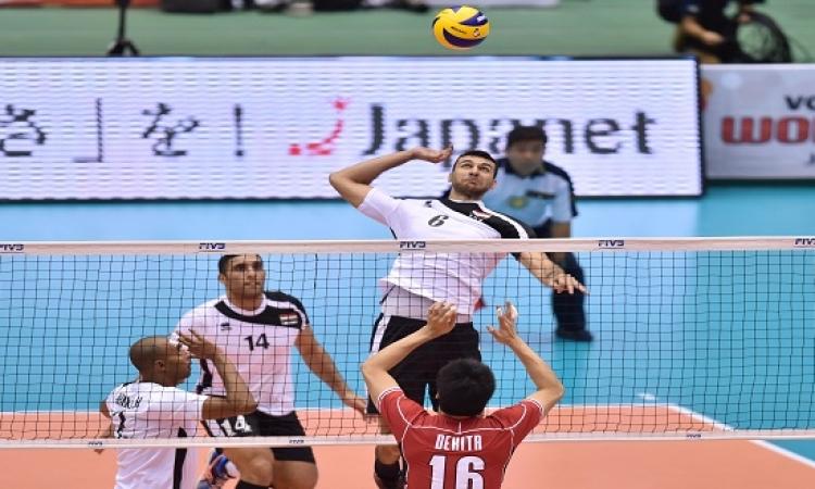 مصر تخسر من بولندا 3 / 0 فى كأس العالم للكرة الطائرة باليابان