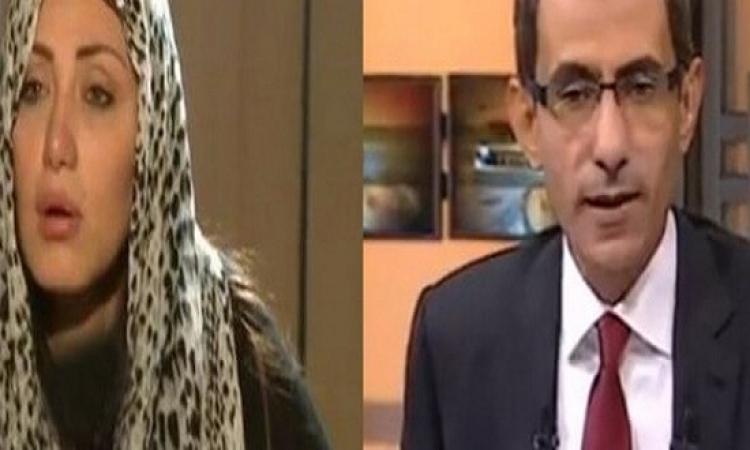 يسرى فودة لريهام سعيد : عليكى وعلى اللى شغلهالك !!