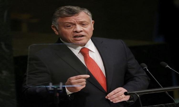 ملك الأردن فى الأمم المتحدة : نعيش حرب عالمية ثالثة