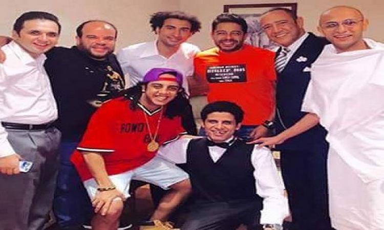 بالصور .. محمد حماقى فى مسرح مصر