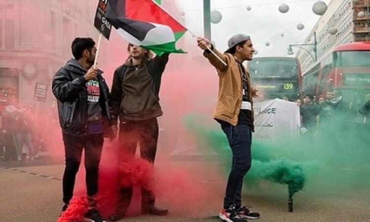 إحتجاجات فى لندن على مبيعات الأسلحة البريطانية لإسرائيل