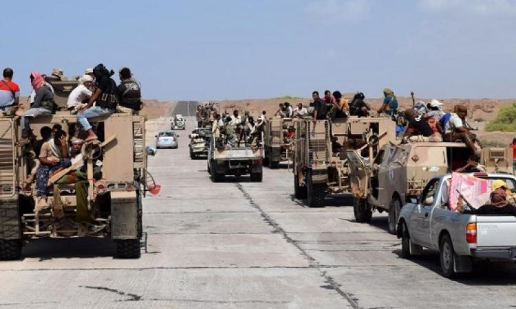 المقاومة الشعبية اليمنية تقتحم القصر الجمهورى ومعسكر الحوثيين بتعز