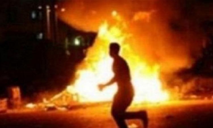 بالصور.. مصرع 5 وإصابة 17 فى انفجار عبوة ناسفة بالمريوطية