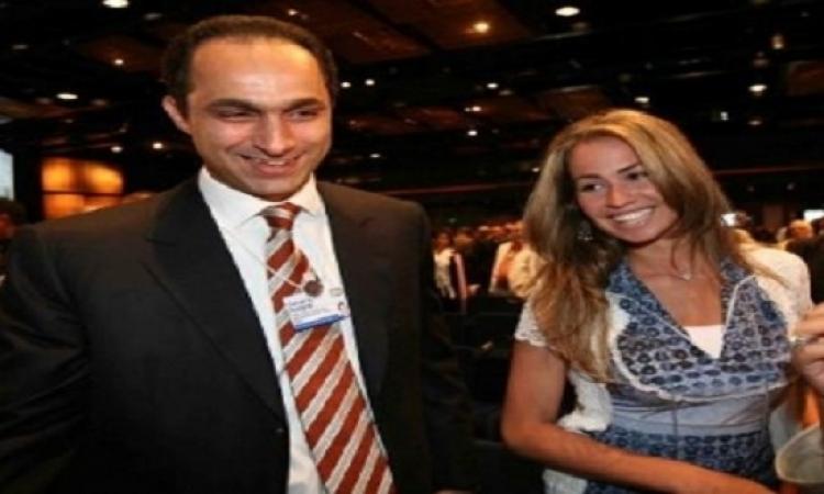 جمال مبارك يحتفل بسبوع ابنه محمد وفرحة خروجه من السجن