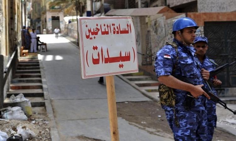 خبراء المفرقعات يتسلمون اللجان الانتخابية لتأمينها