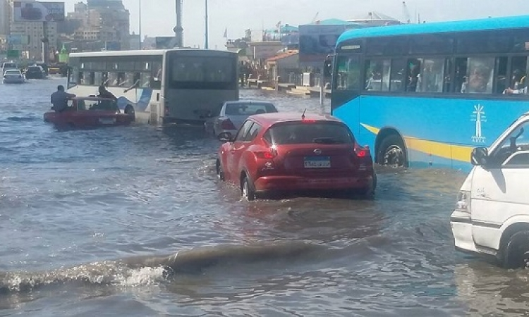 مصرع أربعة مواطنين بسبب الأمطار بالإسكندرية