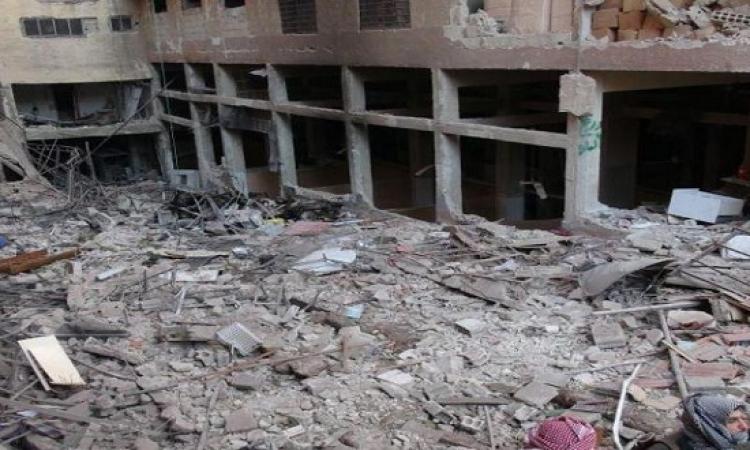 عشرات القتلى فى غارات للجيش السورى على مواقع المعارضة فى ادلب والغوطة الشرقية