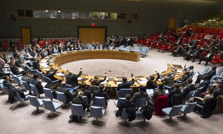 مجلس الأمن يصوت على مشروع قرار بريطانى فرنسى للتنديد بالهجوم الكيميائى على إدلب