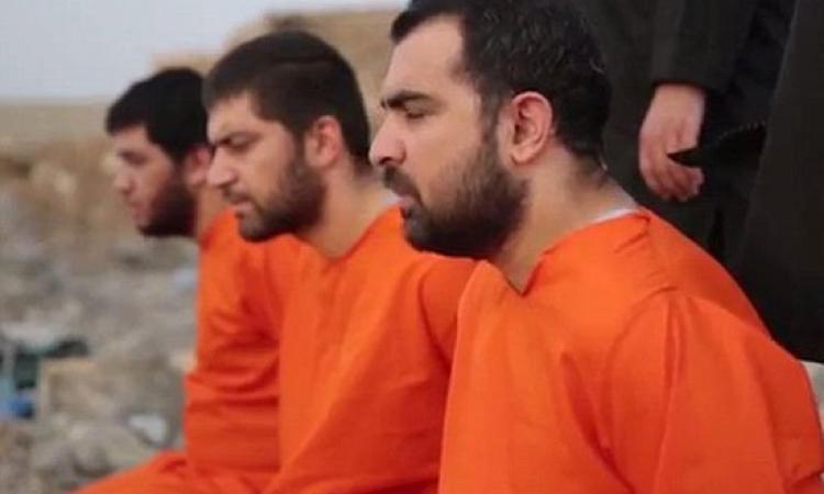بالصور .. داعش يقطع رؤوس 4 من مقاتلى البشمركة انتقامًا من أمريكا