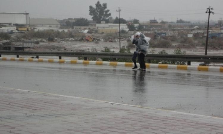 طقس ممطر على أغلب أنحاء الجمهورية .. الشتا داخل بتقله !!