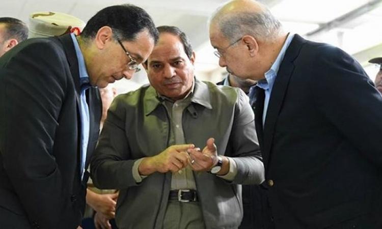 بالصور .. تفاصيل زيارة السيسى المفاجئة إلى الإسكندرية