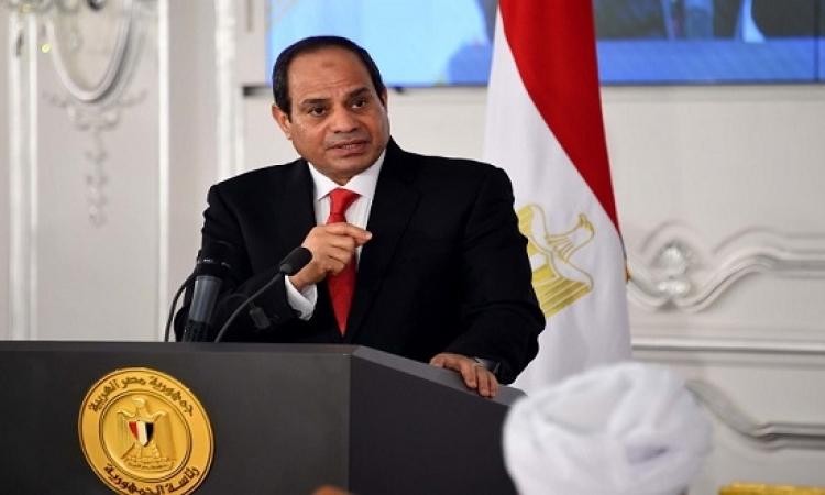 السيسى : ادعاءات داعش باسقاط الطائرة الروسية دعاية للاضرار بسمعة مصر
