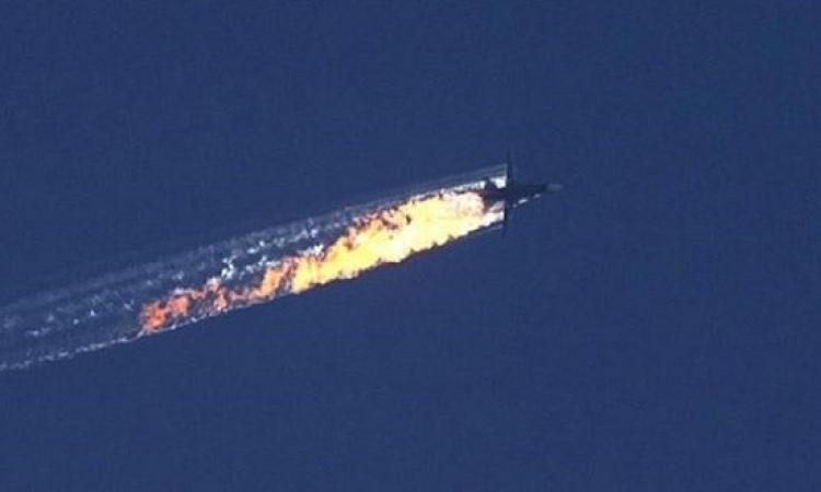 تركيا ترسل جثمان طيار الطائرة الحربية الروسية الى موسكو