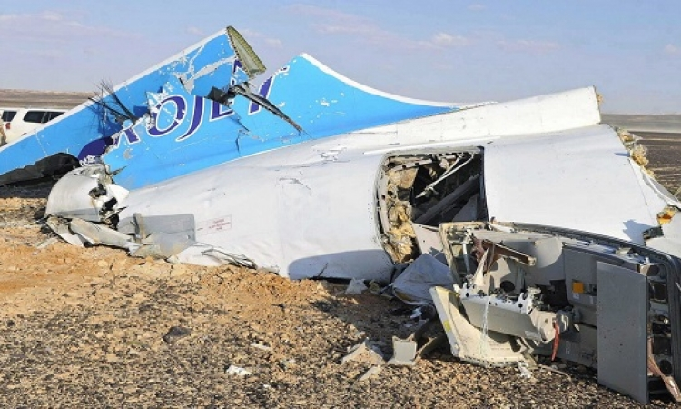 القاهرة توافق على مشاركة واشنطن فى تحقيقات الطائرة الروسية