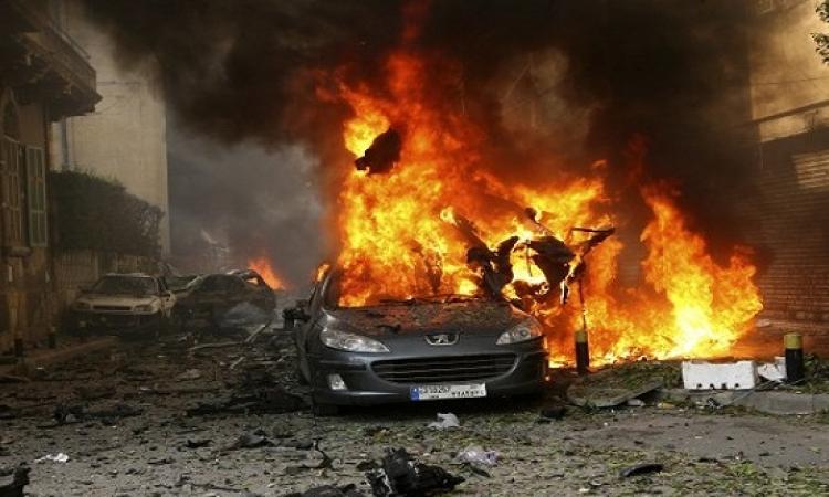 إصابة 4 جنود ليبين فى تفجير انتحارى بسيارة مفخخة شرق سرت