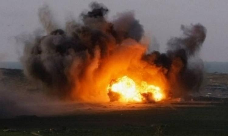 استشهاد مجندى شرطة وإصابة ثالث فى انفجار قنبلة بالشيخ زويد