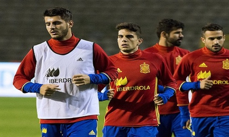 الغاء مباراة بلجيكا ضد إسبانيا لأسباب أمنية