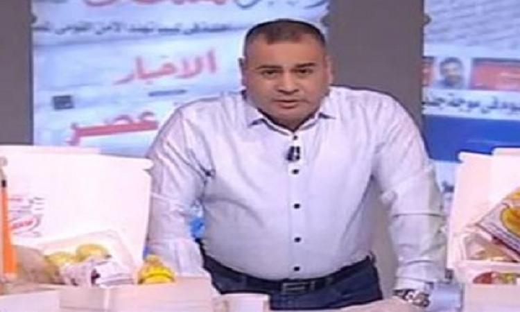 بالفيديو .. جابر القرموطى يقدم وجبات التموين على الهواء مباشرة