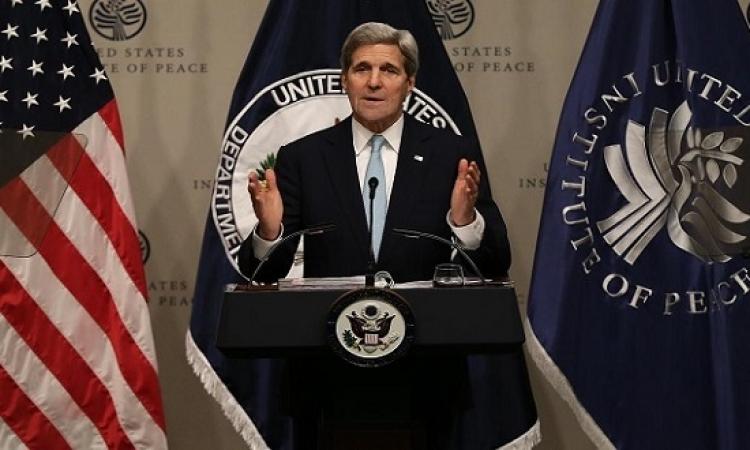 جون كيرى يحذر بكين من عسكرة بحر الصين