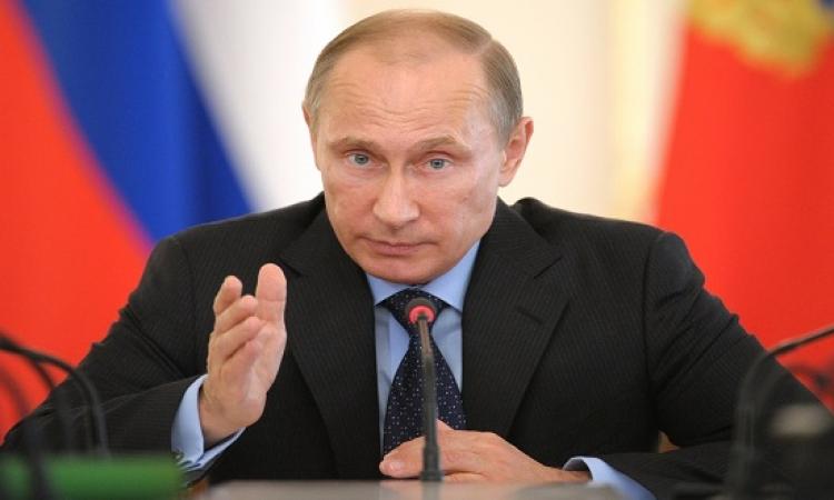 بوتين : جهود مصر فى محاربة الأرهاب لم تكلل بالنجاح حتى الآن