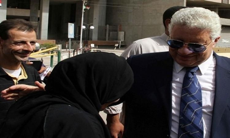 مرتضى منصور يرفض مساندة اللاعبين له فى الانتخابات