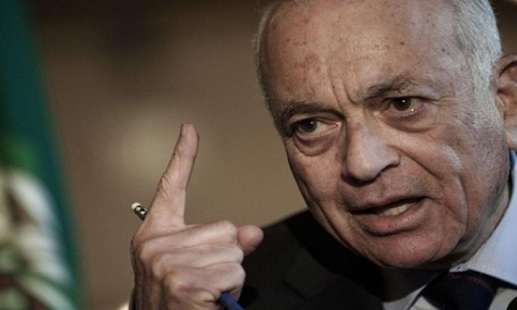 نبيل العربى : لابد من وقف التدخلات الخارجية بشؤون الدول العربية