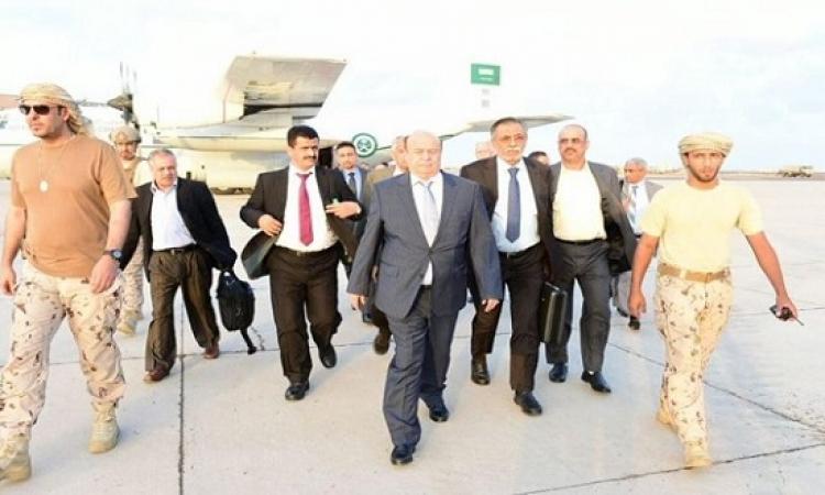 الرئيس اليمنى هادى يصل عدن للإشراف على تحرير تعز