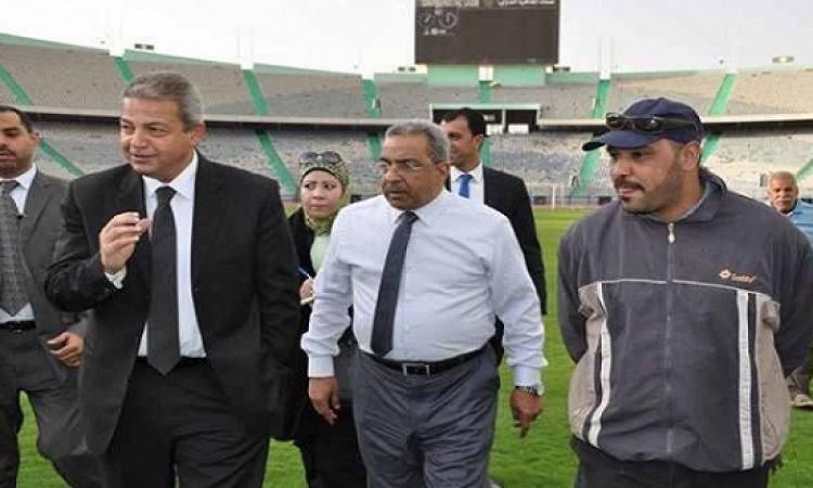 وزير الرياضة : وصول مصر لمونديال روسيا 2018 هو حلم 90 مليون مصرى