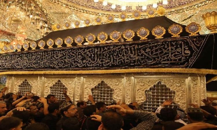 آلاف العراقيين يحيون ذكرى استشهاد زيد بن الإمام على ببابل
