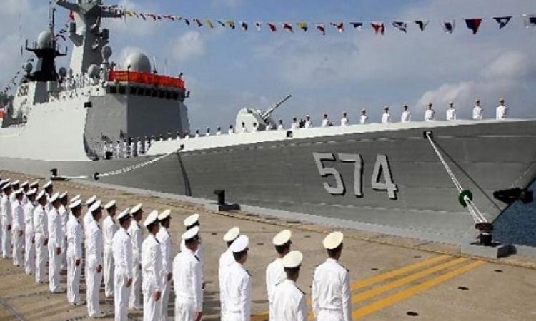 البحرية الصينية تجهز أسطولاً للقيام بمناورات بحرية