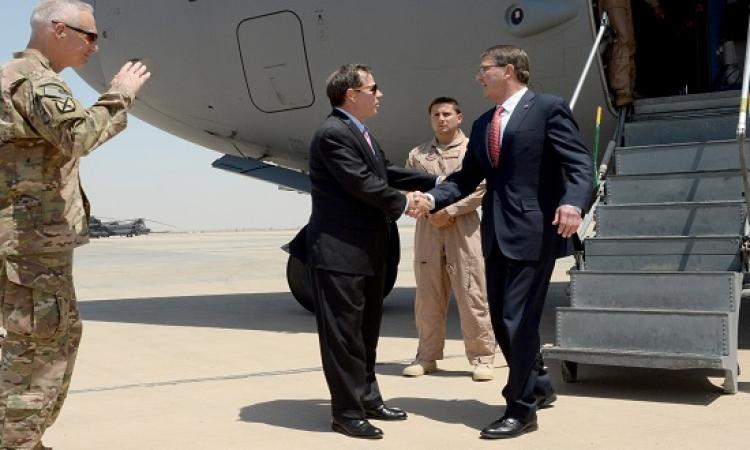 زيارة مفاجئة لوزير الدفاع الامريكى للعراق لبحث مواجهة داعش