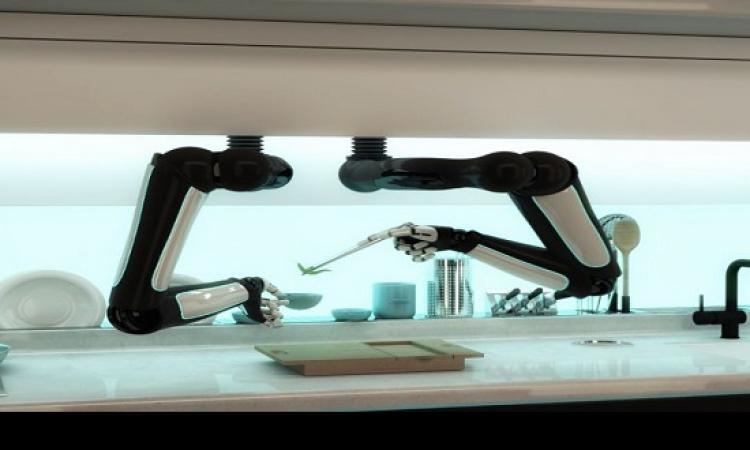 روبوت يصنع لك الغداء .. ونفسه فى الأكل حلو!!
