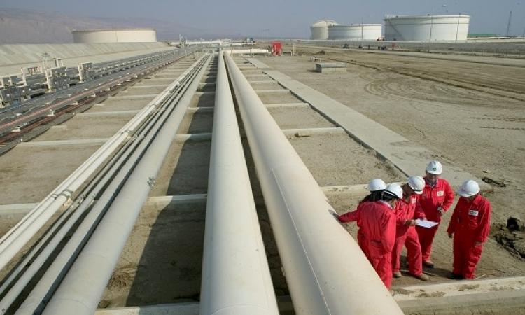 """""""البترول"""" ترفع كميات الغاز المصدرة للأردن 50%"""