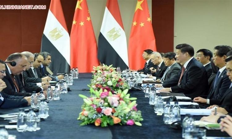 بعد لقاءه اسماعيل .. رئيس الصين : 15 مشروعًا مع مصر بـ 10 مليارات دولار