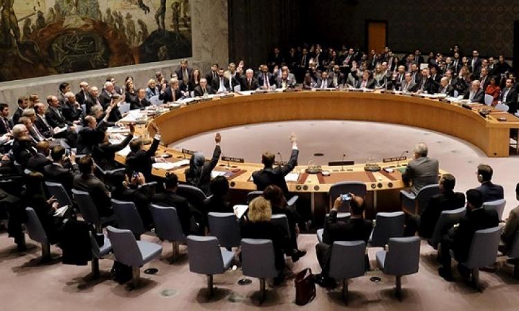 مجلس الأمن يقر بالإجماع خطة للسلام فى سوريا